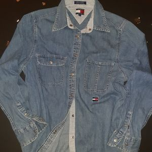 Tommy Hilfiger jean shirt
